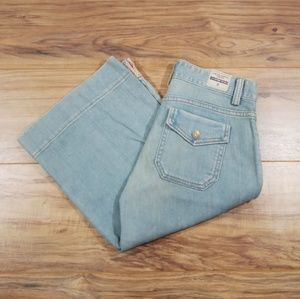 NWT GAP low rise cropped stretch shorts